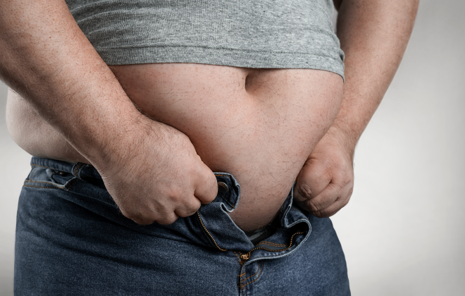 low t and being overweight